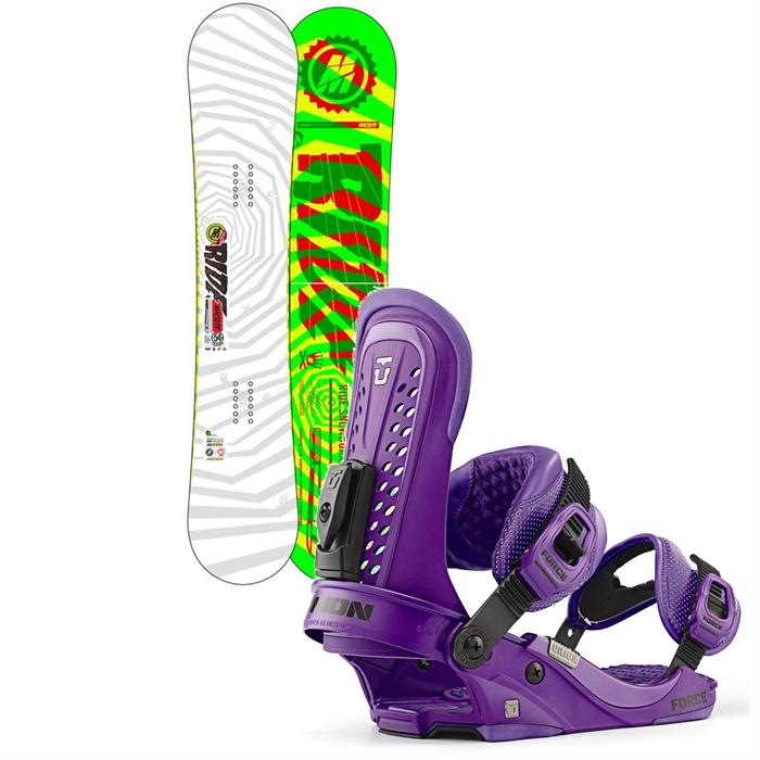 Ride - Machete Wide Snowboard + Union Force Bindings 2013