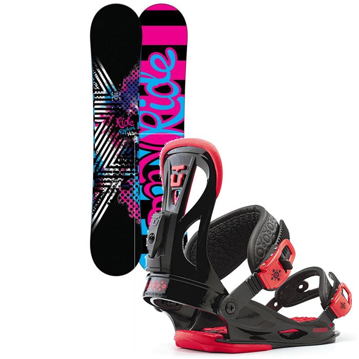 Ride - Rapture Snowboard + Union Flite Lady Bindings - Women's 2013
