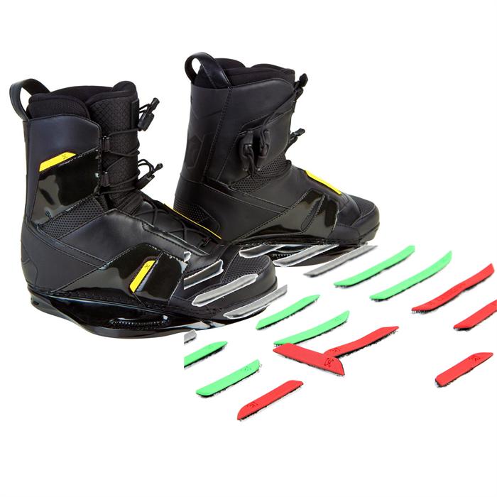 Ronix - Code 55 Wakeboard Bindings (with Code 55 Custom Color Pack)