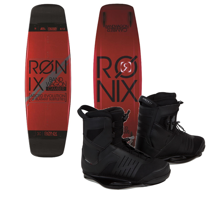 Ronix - LTD Bandwagon ATR Wakeboard + Preston Wakeboard Bindings 2014