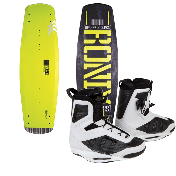 Ronix - Parks Air Core Wakeboard + Parks Wakeboard Bindings 2014