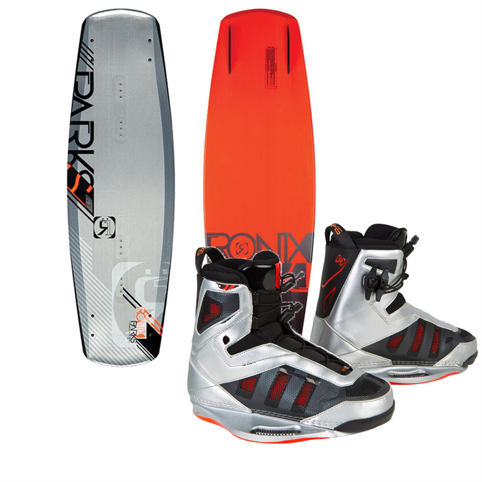Ronix - Parks Modello Wakeboard (Blem) + Parks Wakeboard Bindings 2013