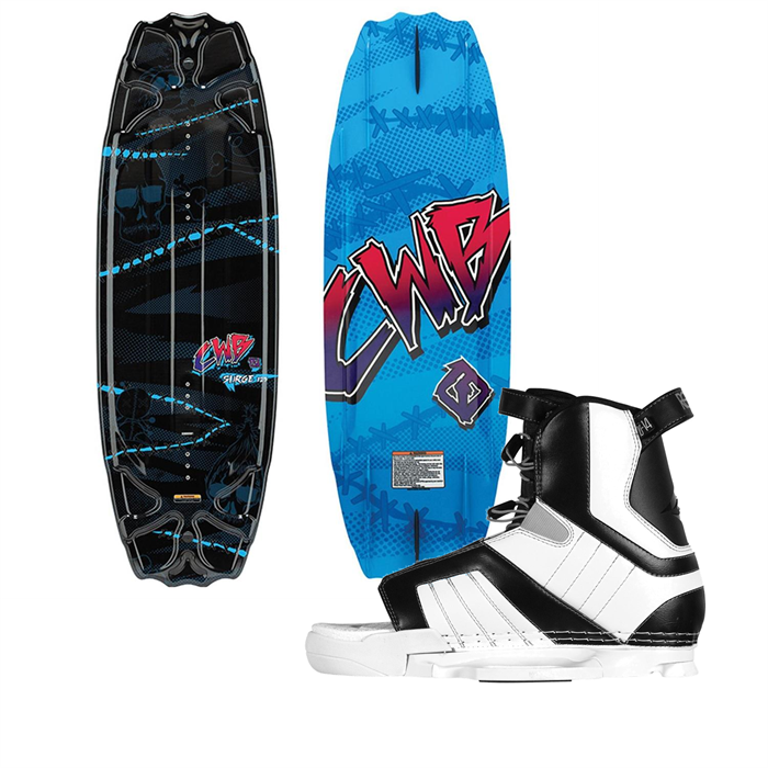 CWB - Surge Wakeboard + Hyperlite Remix Bindings - boys 2012