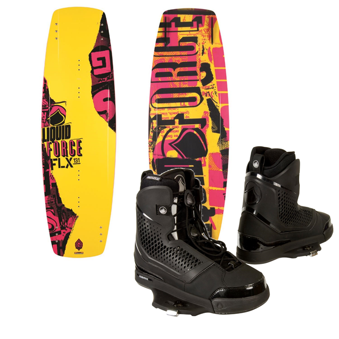 Liquid Force - FLX Wakeboard + Ultra CT Bindings 2014