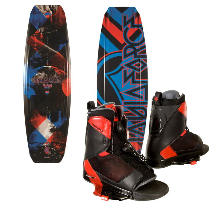 Liquid Force - Fusion Grind Wakeboard + Transit Bindings 2014