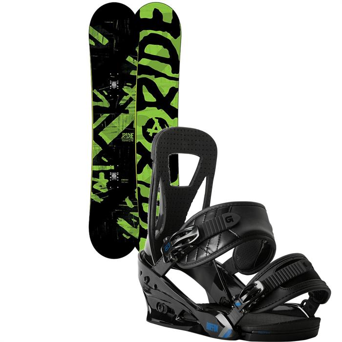 Ride - Agenda Snowboard + Burton Freestyle Bindings 2014