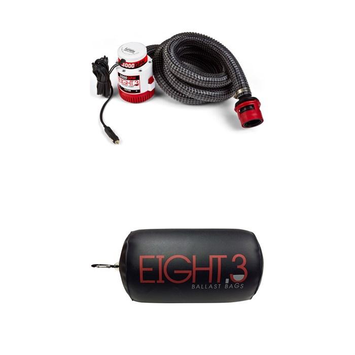 Eight.3 - 3000 GPH Submersible Pump + Pump Float + Carabiner