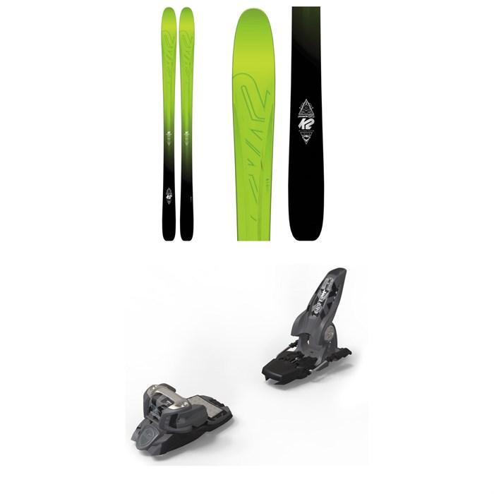 K2 - Pinnacle 95 Skis + Marker Griffon Ski Bindings