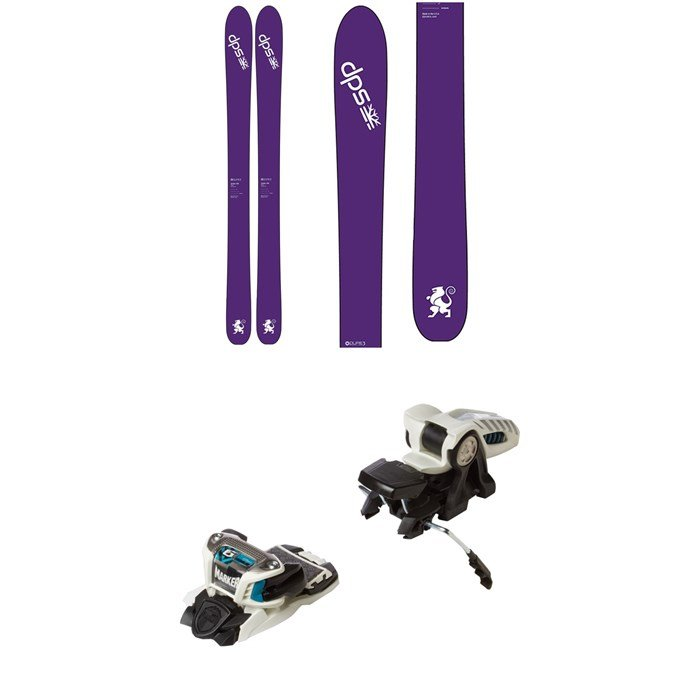 DPS - Zelda 106 Pure3 Skis - Women's 2017 + Marker Griffon Ski Bindings 2016