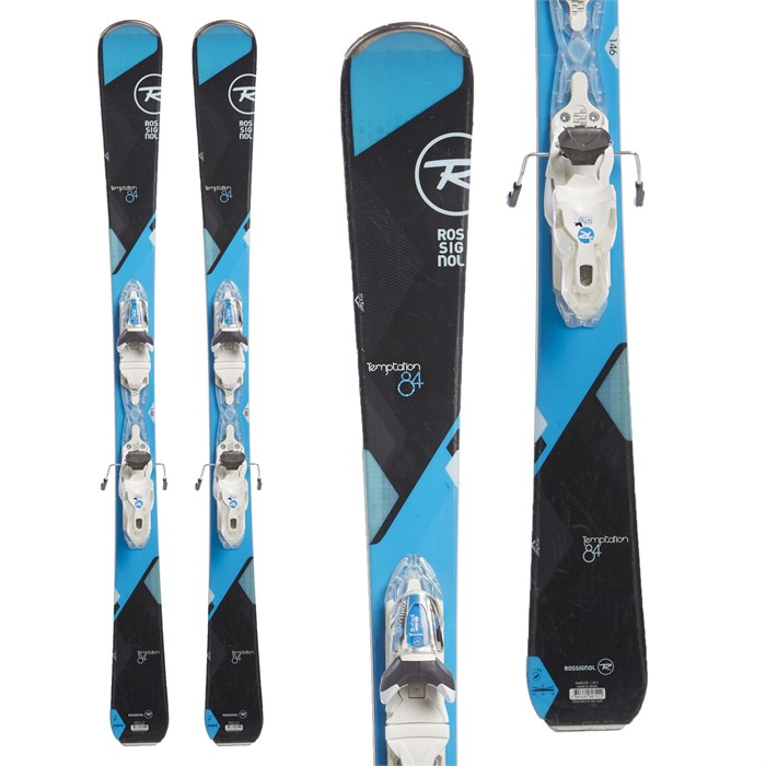 Rossignol - Temptation 84 Skis + Look Xpress 11 W Demo Bindings - Women's 2017 - Used