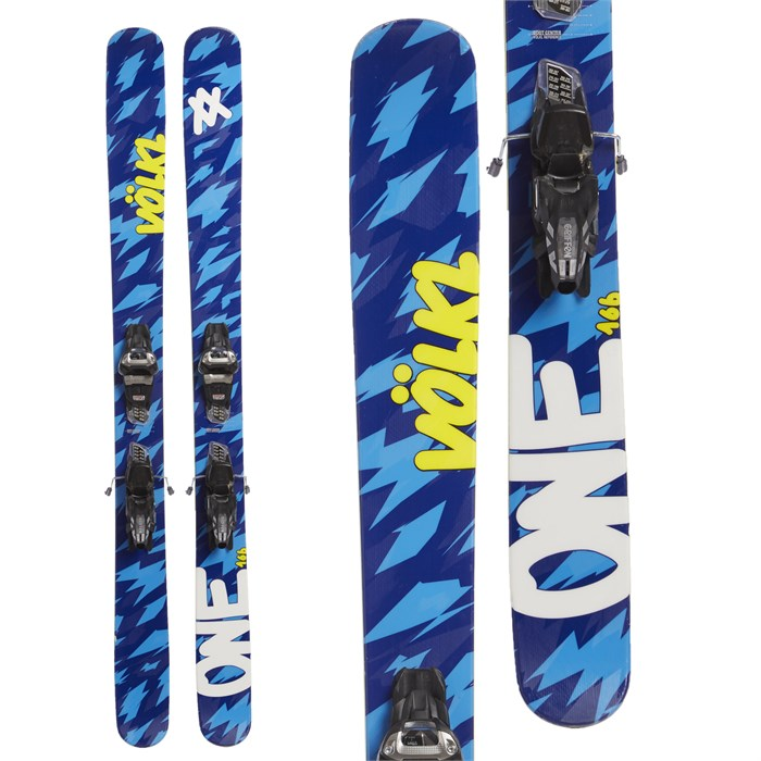 Volkl One Skis + Marker Griffon Demo Bindings 2017