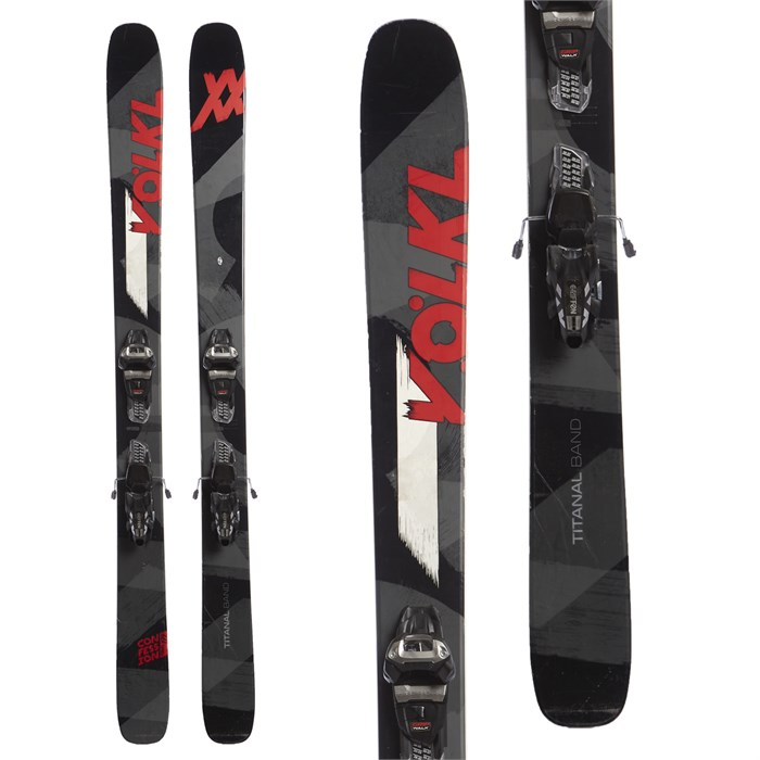Volkl Confession Skis + Marker Griffon Demo Bindings 2017