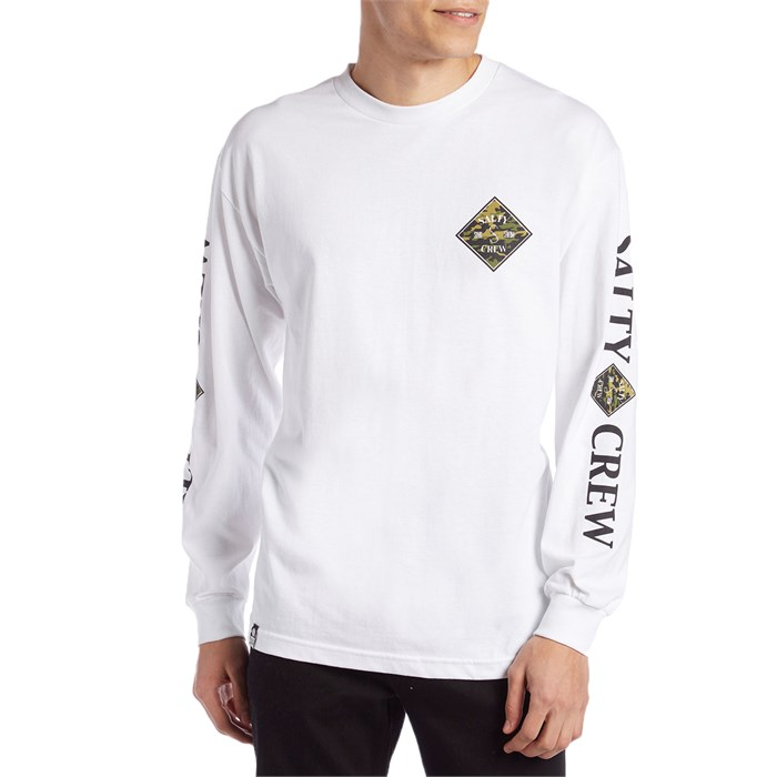 online retailer 05dd7 745f4 Salty Crew - Tippet Camo Long-Sleeve T-Shirt ...