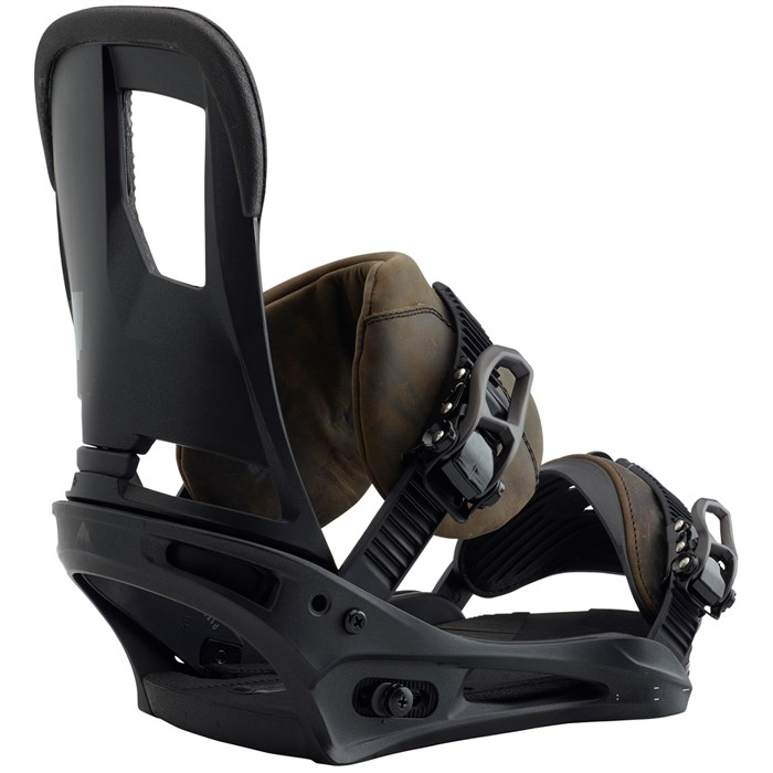 Burton - Cartel Leather Snowboard Bindings 2018