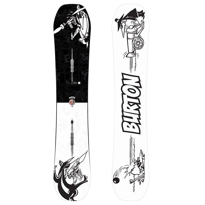 Burton - x Mad Magazine Spy vs Spy Snowboard 2018