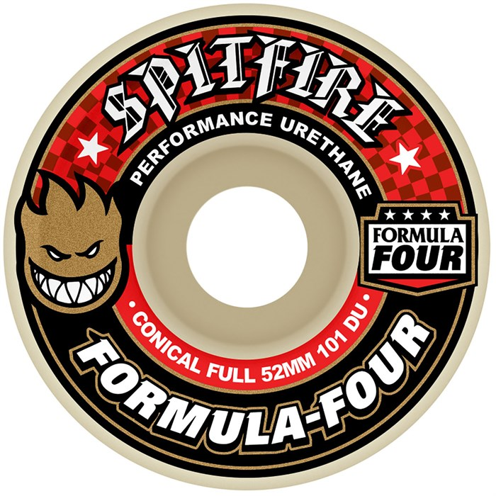 Spitfire - Formula Four 101D Conical Full Skateboard Wheels