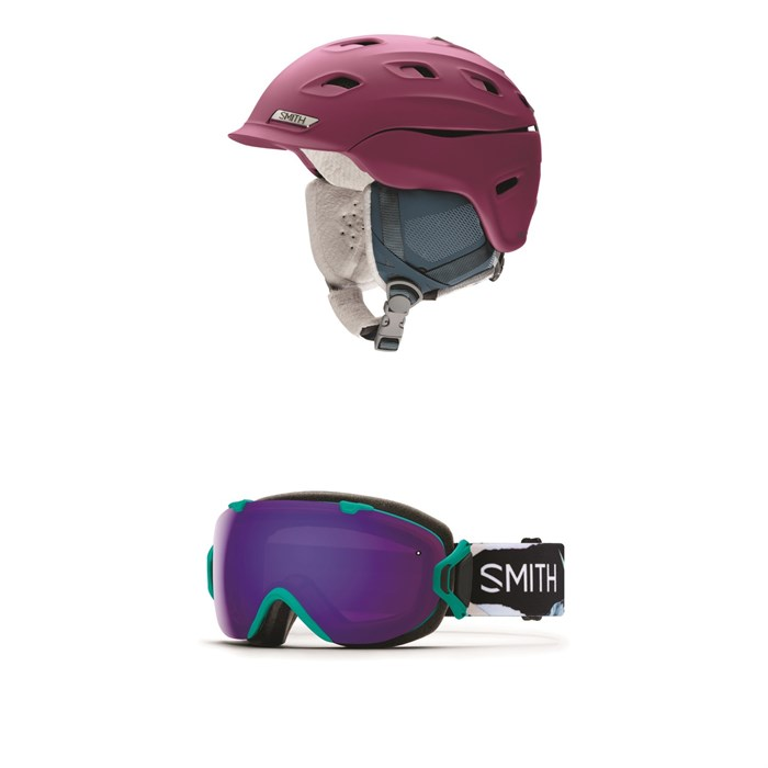 Smith - Vantage MIPS Helmet - Women's + Smith I/OS Goggles