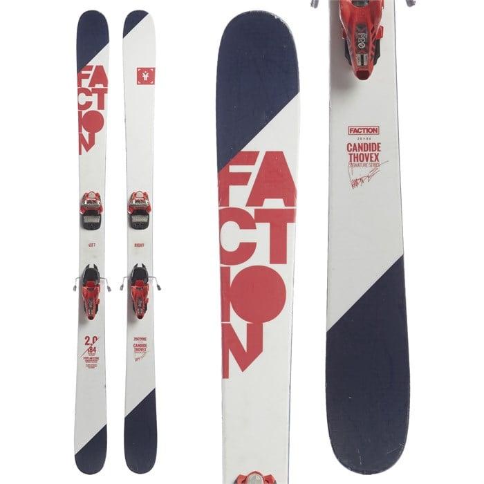 Faction Candide 2.0 Skis + Marker Jester Pro Ski Bindings