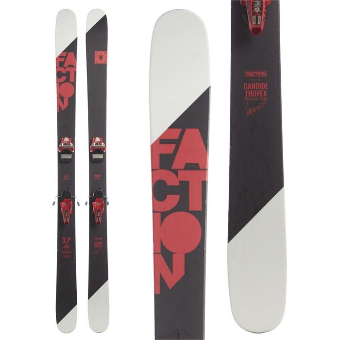 Faction Candide 3.0 Skis + Marker Jester Pro Ski Bindings