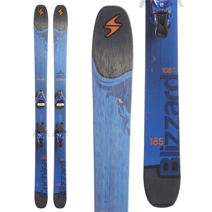 Blizzard Cochise Skis + Salomon STH2 16 WTR Ski Bindings