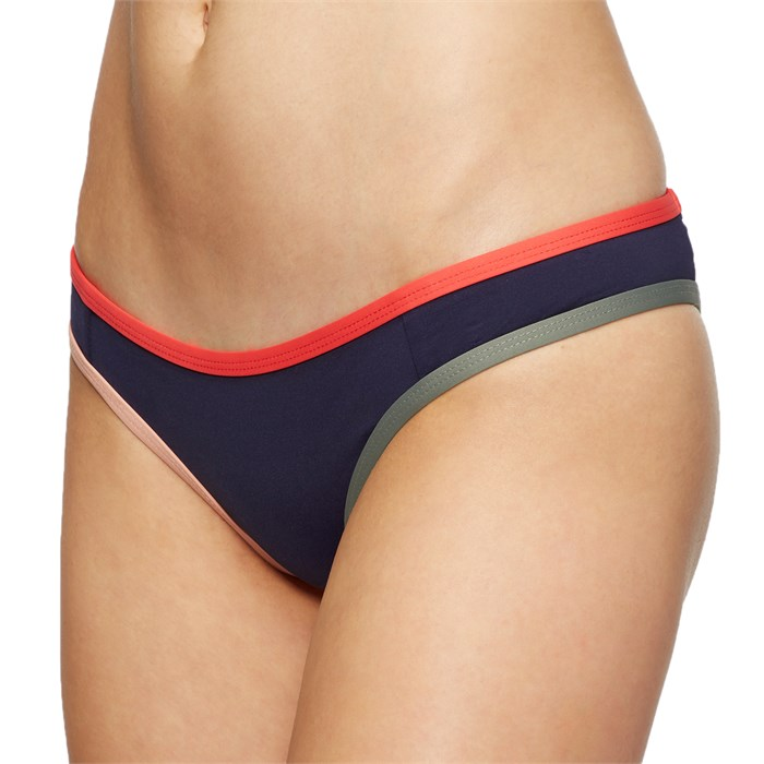 Tavik - Jayden Moderate Color Blocked Bikini Bottoms - Women's