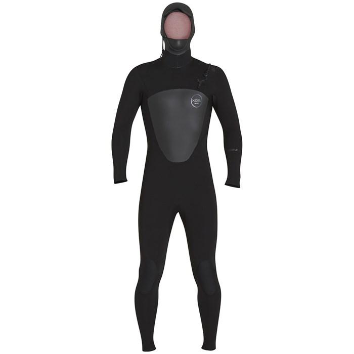 XCEL - 5/4 Axis Front Zip Hooded Wetsuit