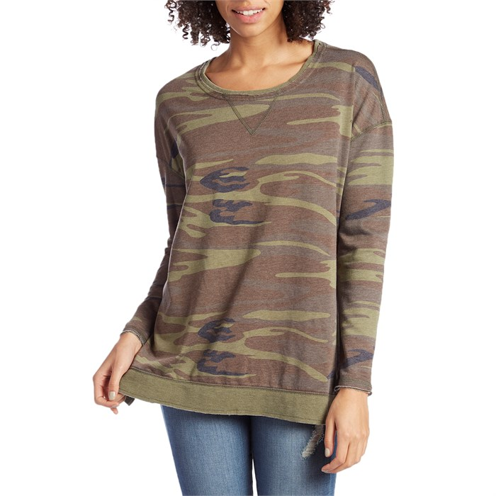 Z Supply - The Camo Weekender Pullover - Women's