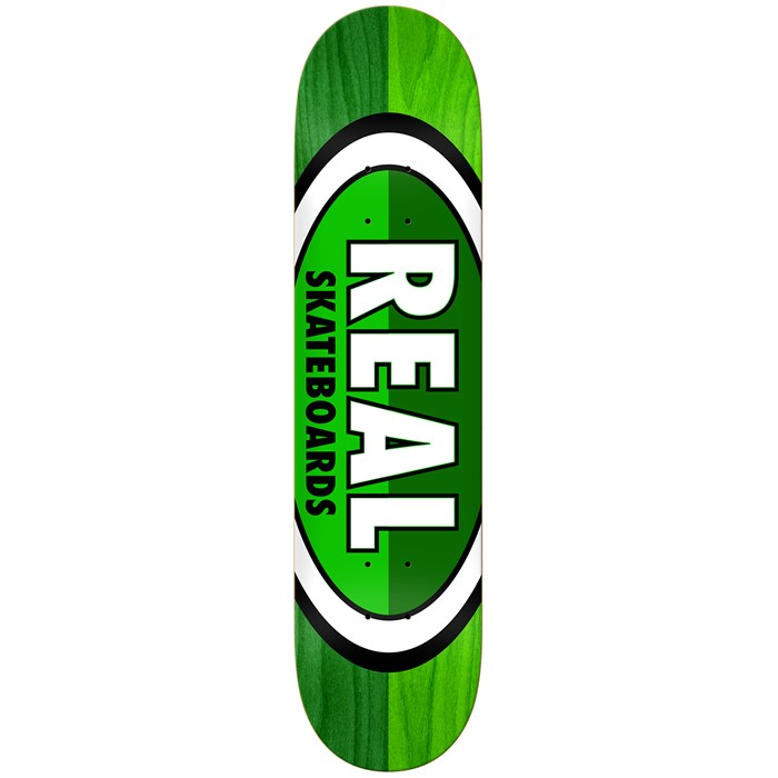 Real - 50-50 Oval 8.06 Skateboard Deck