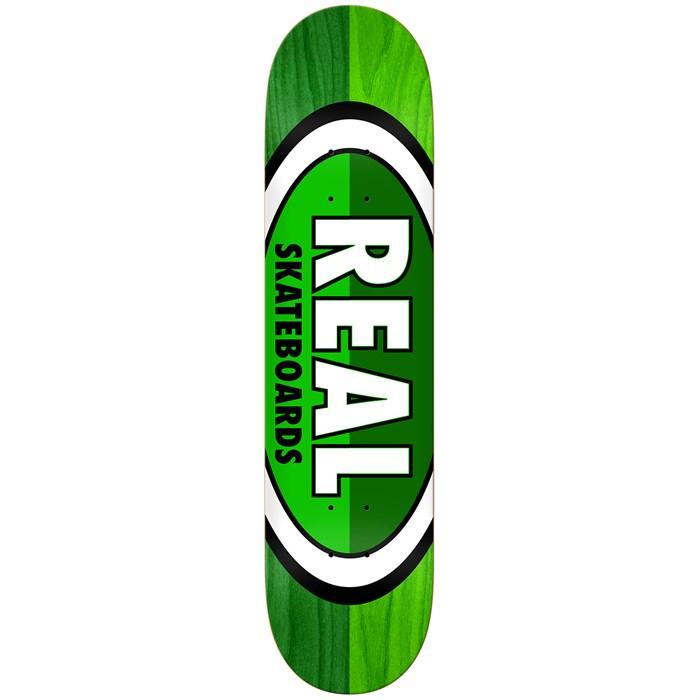 Real - 50-50 Oval 8.06 Skateboard Deck