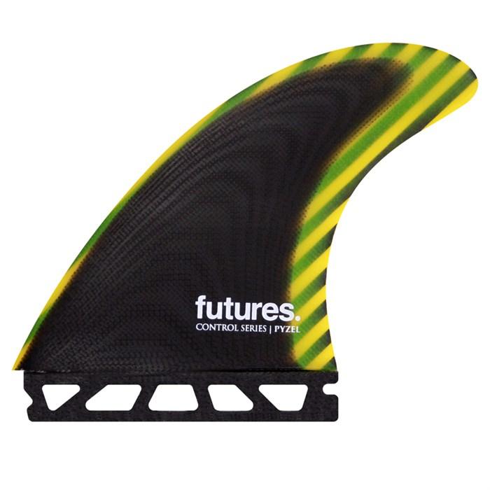 Futures - Pyzel Large Control Tri Fin Set