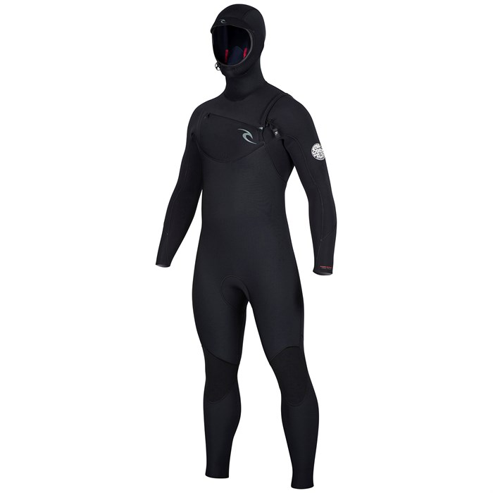 3f0f591bb4 Rip Curl - 5 4 Dawn Patrol Hooded Chest Zip Wetsuit ...