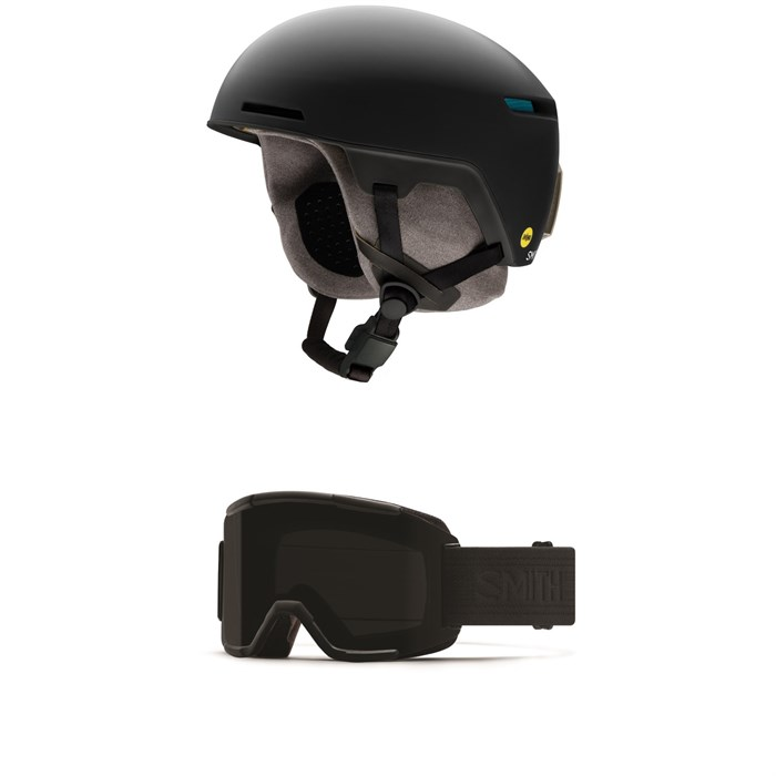 Smith - Code MIPS Helmet + Smith Squad Goggles