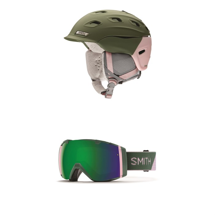 Smith - Vantage MIPS Helmet - Women's + Smith I/O Goggles