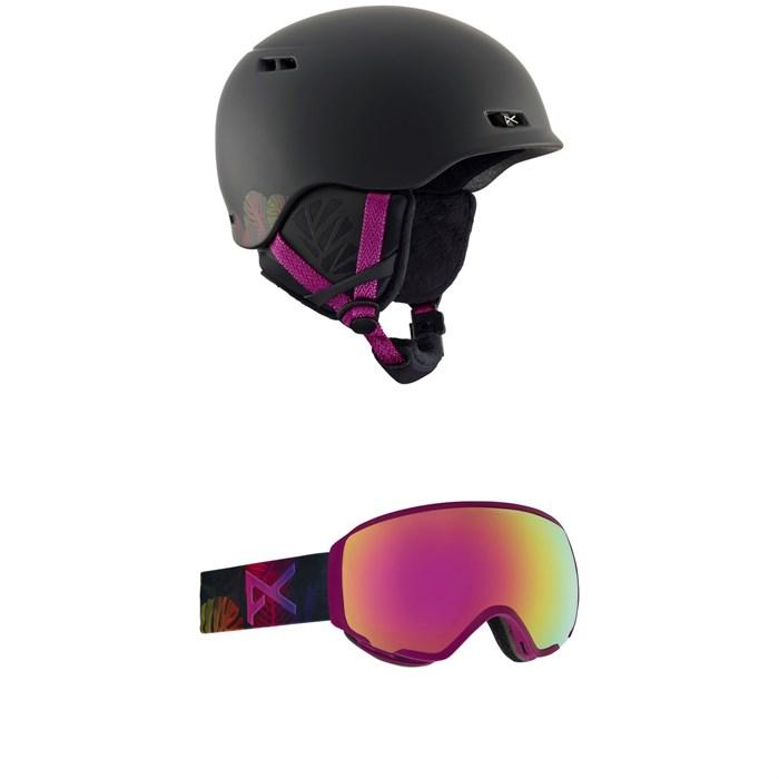 Anon - Griffon Helmet - Women's + Anon WM1 Goggles - Women's