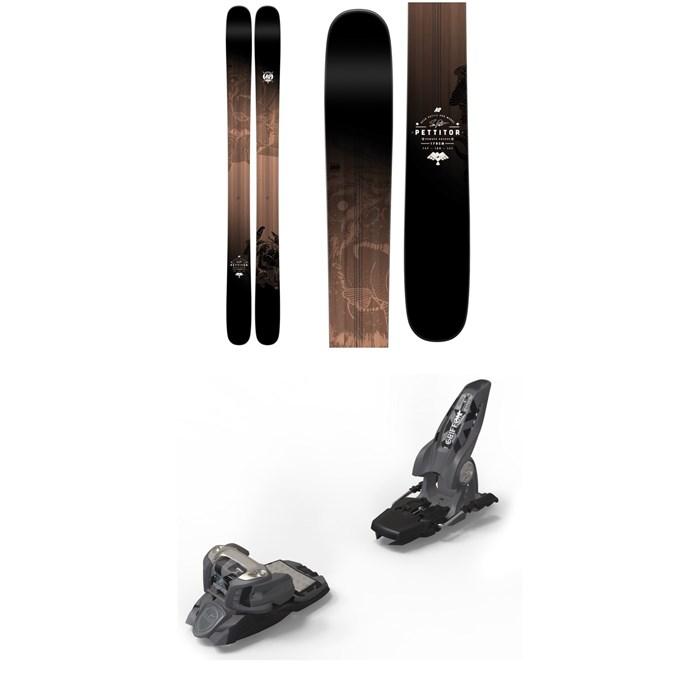 K2 - Pettitor Skis + Marker Griffon Ski Bindings