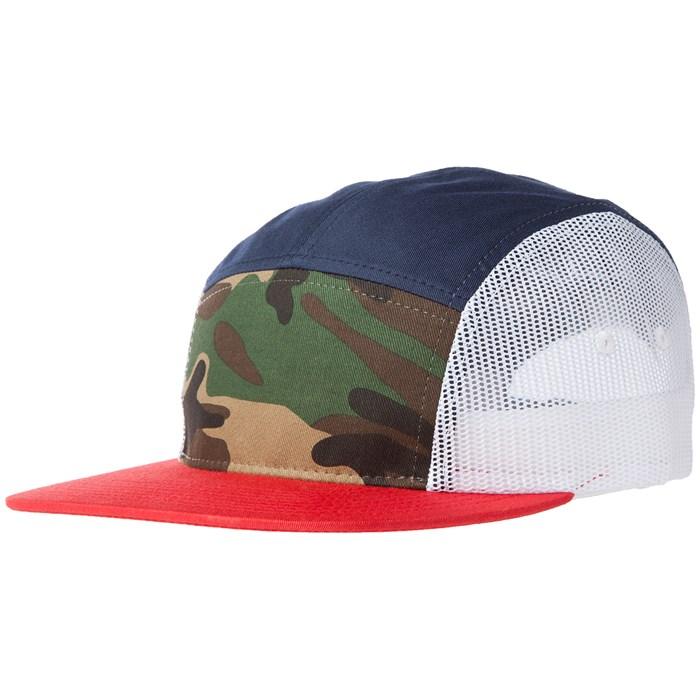 evo - 5 Panel Trucker Hat ... d904fc6f2ee