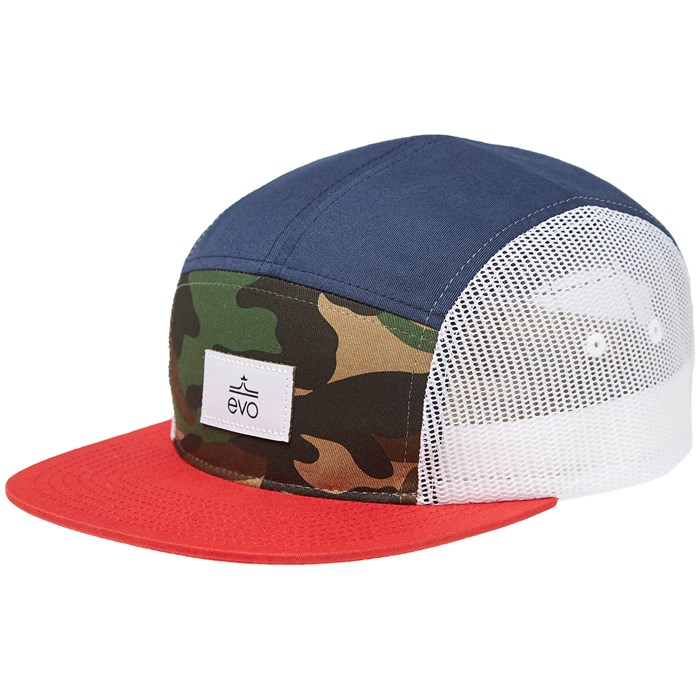 evo - 5 Panel Trucker Hat