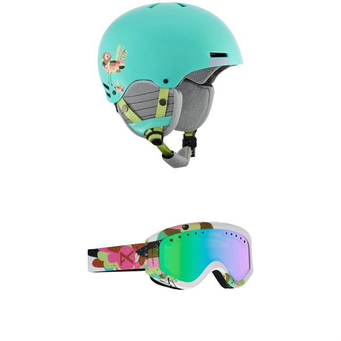 Anon - Rime Helmet - Big Kids' + Anon Tracker Goggles - Kids'