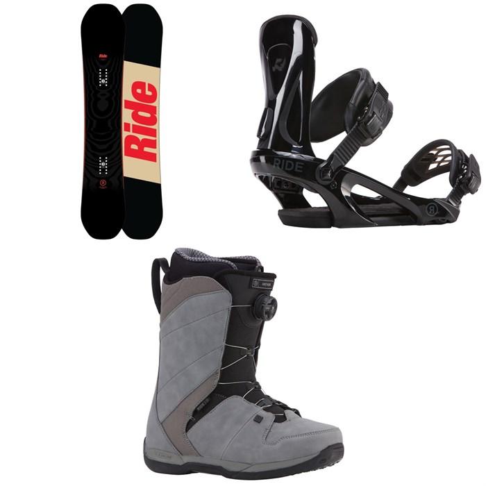 Ride - Machete Snowboard + Ride KX Snowboard Bindings + Ride Anthem Boa Coiler Snowboard Boots 2018