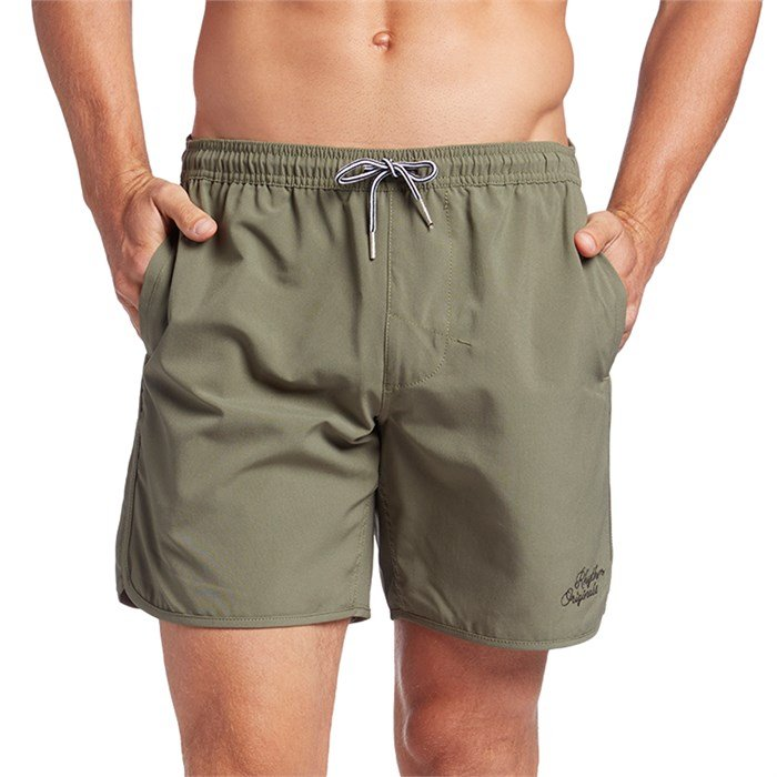 8406a8b6db Rhythm - Black Label Beach Swim Trunks ...