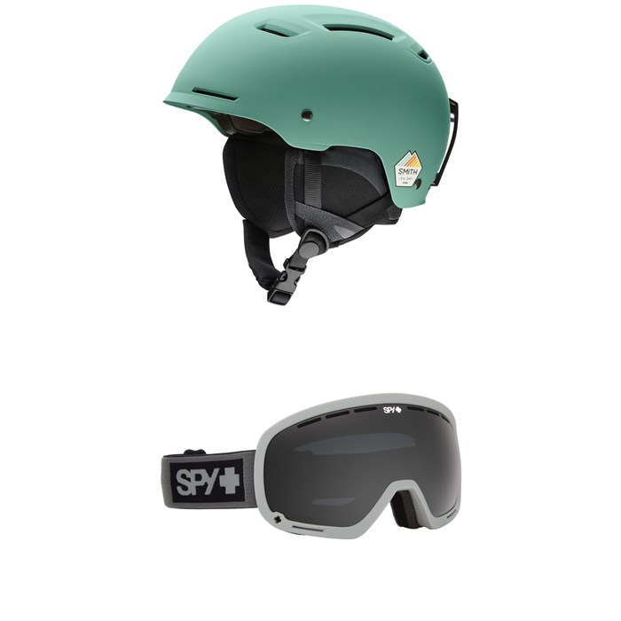 Smith - Pivot Helmet + Spy Marshall Goggles