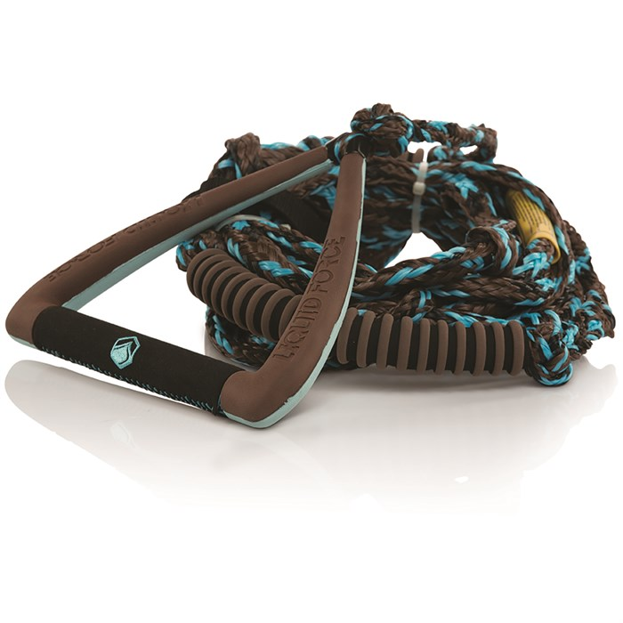 """Liquid Force - 9"""" Ultra Suede Handle + Surf Rope"""