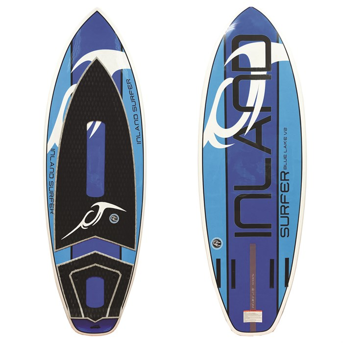 Inland Surfer - Blue Lake V2 Wakesurf Board 2018