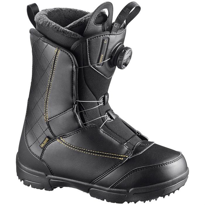 Salomon Pearl BOA Snowboard Boots Womens Size 6   eBay
