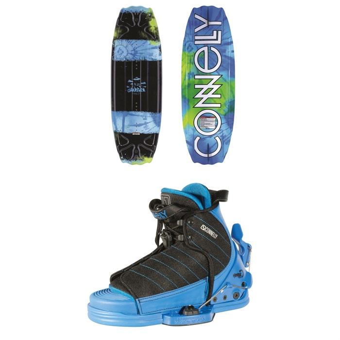 Connelly - Charger Wakeboard + Tyke Wakeboard Bindings - Boys' 2019