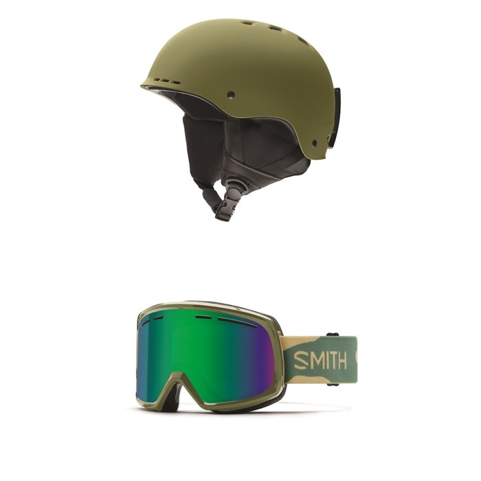 Smith - Holt Helmet + Smith Range Goggles