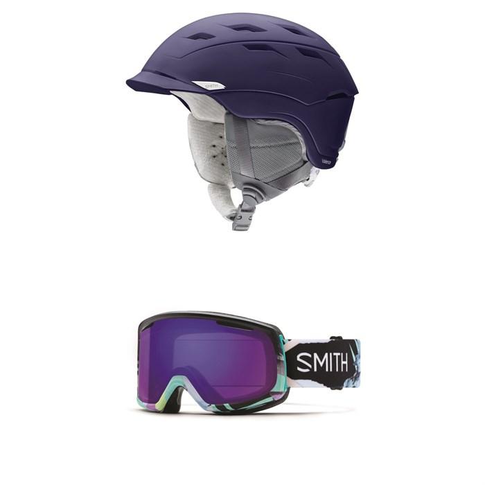 Smith - Valence Helmet - Women's + Smith Riot Goggles - Women's