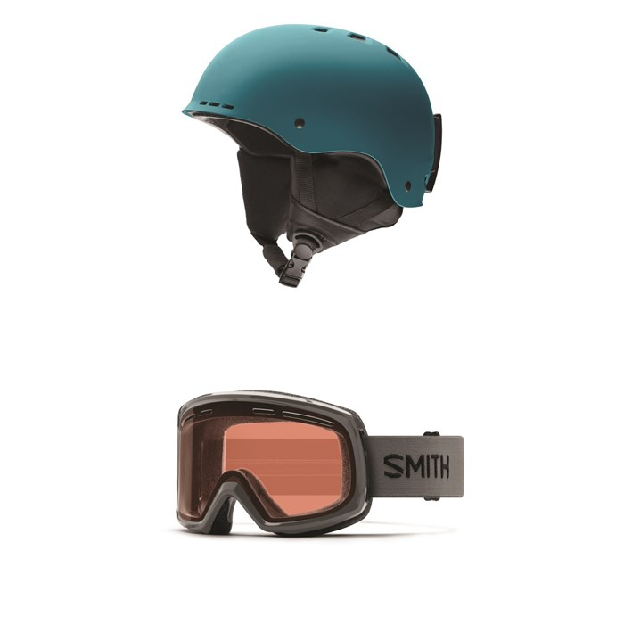 Smith - Holt Helmet +  Smith Range Goggles