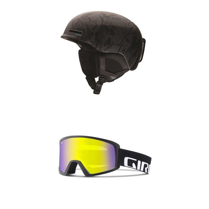 Smith - Maze Helmet + Giro Blok Goggles