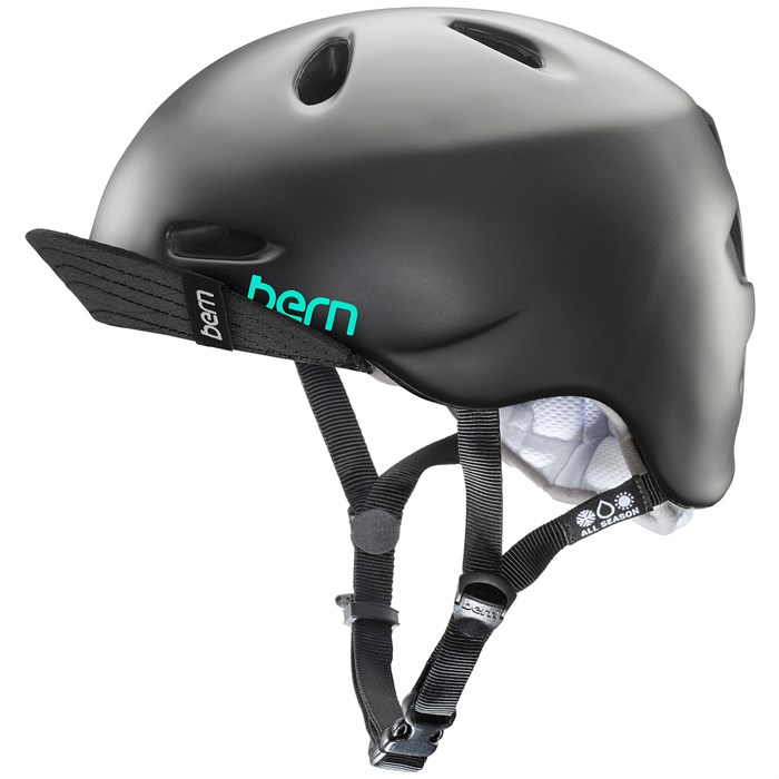 Bern - Berkley Bike Helmet w/ Flip Visor - Women's